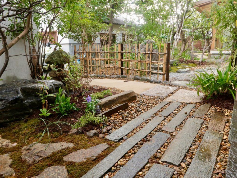 枚方の庭2|グリーン+ガーデン タマンサリ施工事例