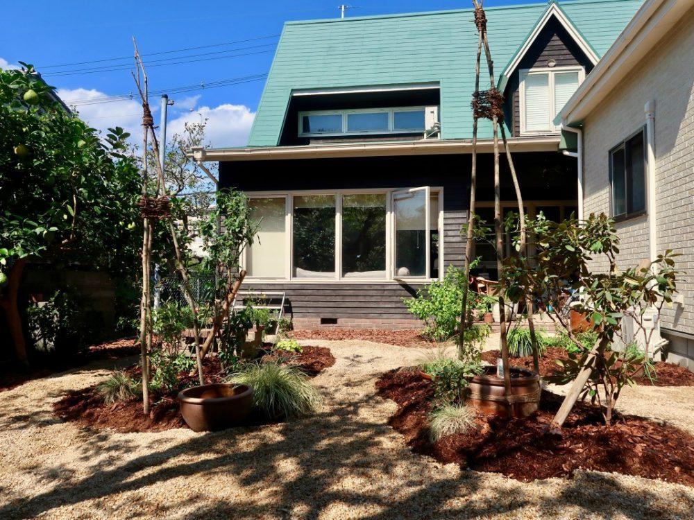 茨木の庭|グリーン+ガーデン タマンサリ 施工事例