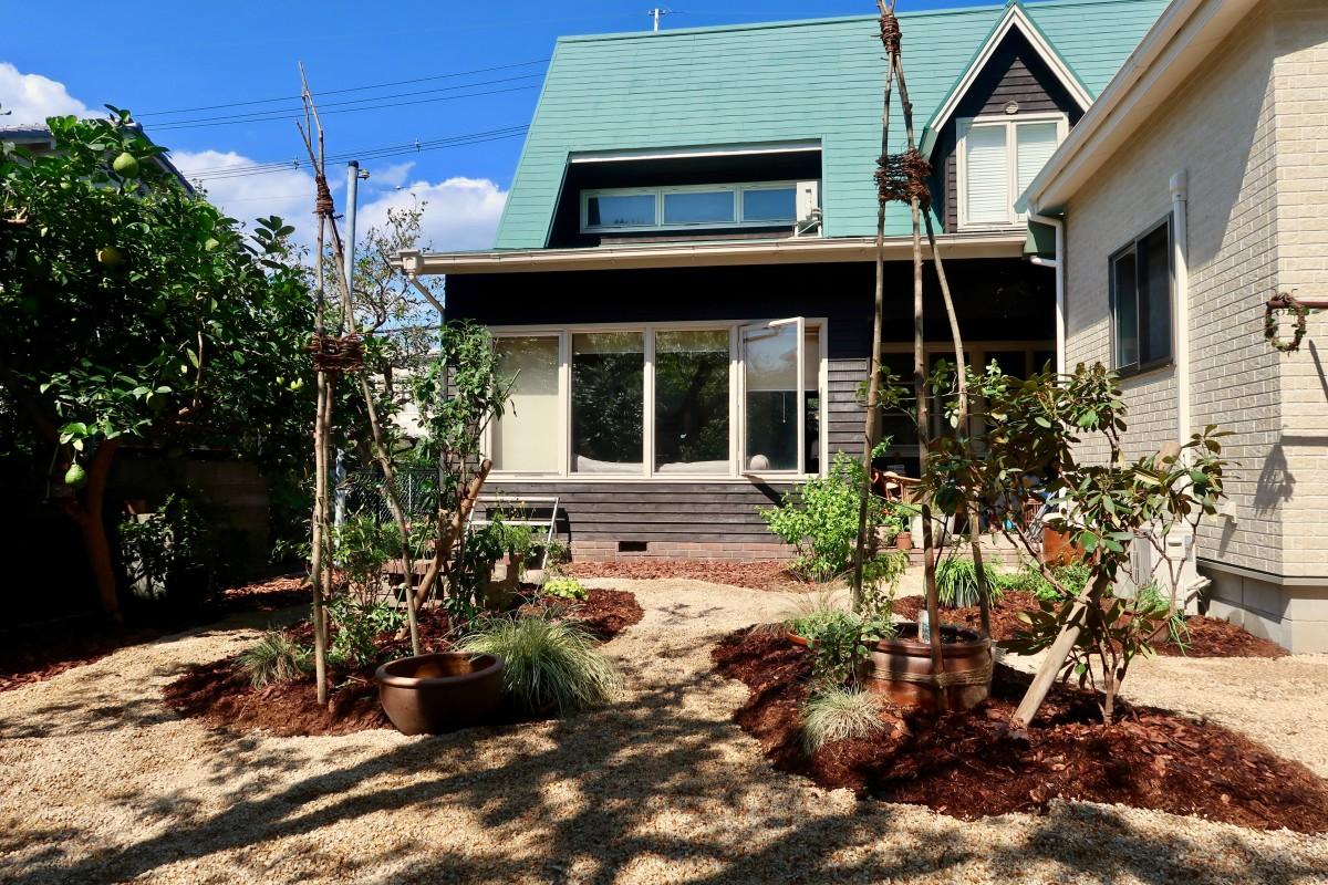 茨木の庭 グリーン+ガーデン タマンサリ 施工事例