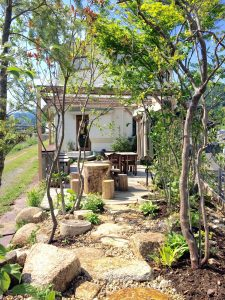カフェギャラリー 里づと|グリーンプラスガーデン タマンサリの施工事例