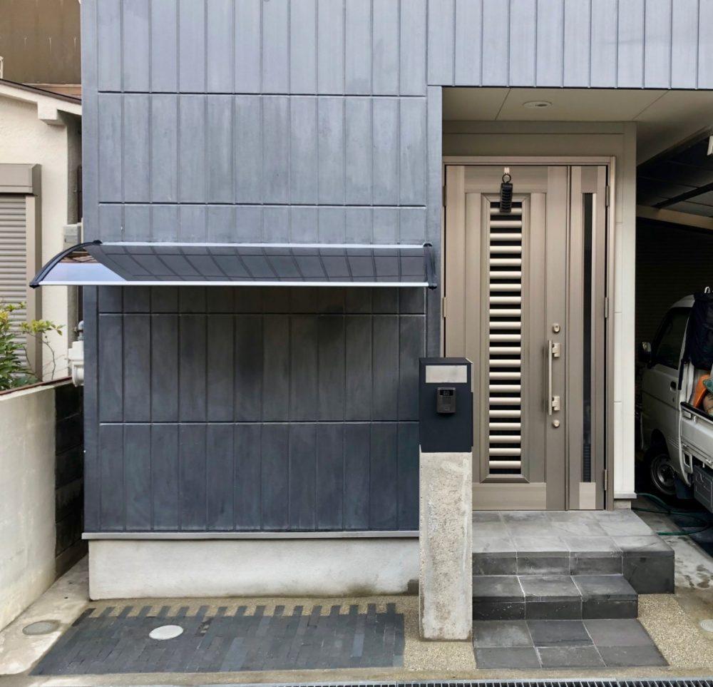 八尾の家|グリーン+ガーデン タマンサリ外構施工例