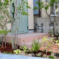 東大阪の庭 グリーンプラスガーデン タマンサリ施工事例