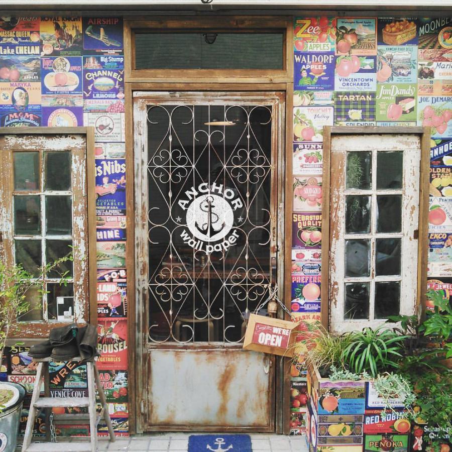 ANCHOR wallpaper |グリーンプラスガーデン タマンサリ施工事例